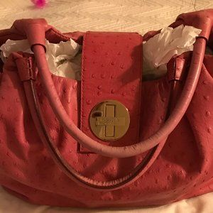 Kate Spade Stevie Ostrich Textured Leather